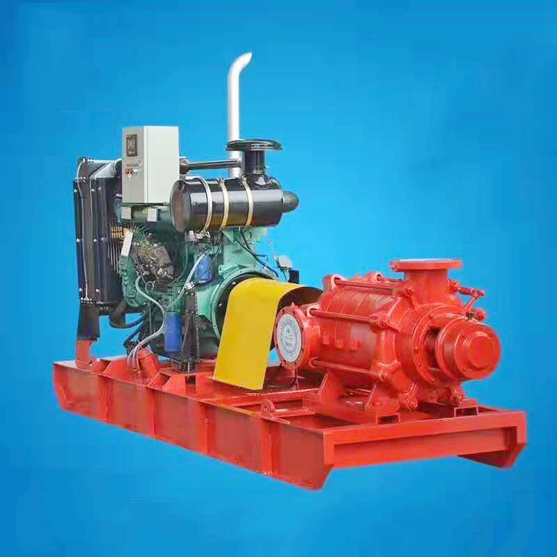多级单吸柴油机泵组